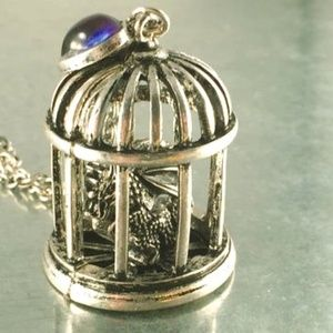Jewelry - dragon in a bird cage
